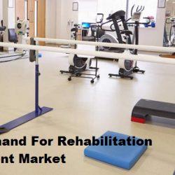 The Demand For Rehabilitation Equipment Market
