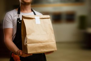 Delivery Takeaway Food Market